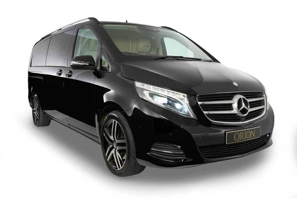 Mercedes-Benz SENZATI JET CLASS - Orion Luxury Services